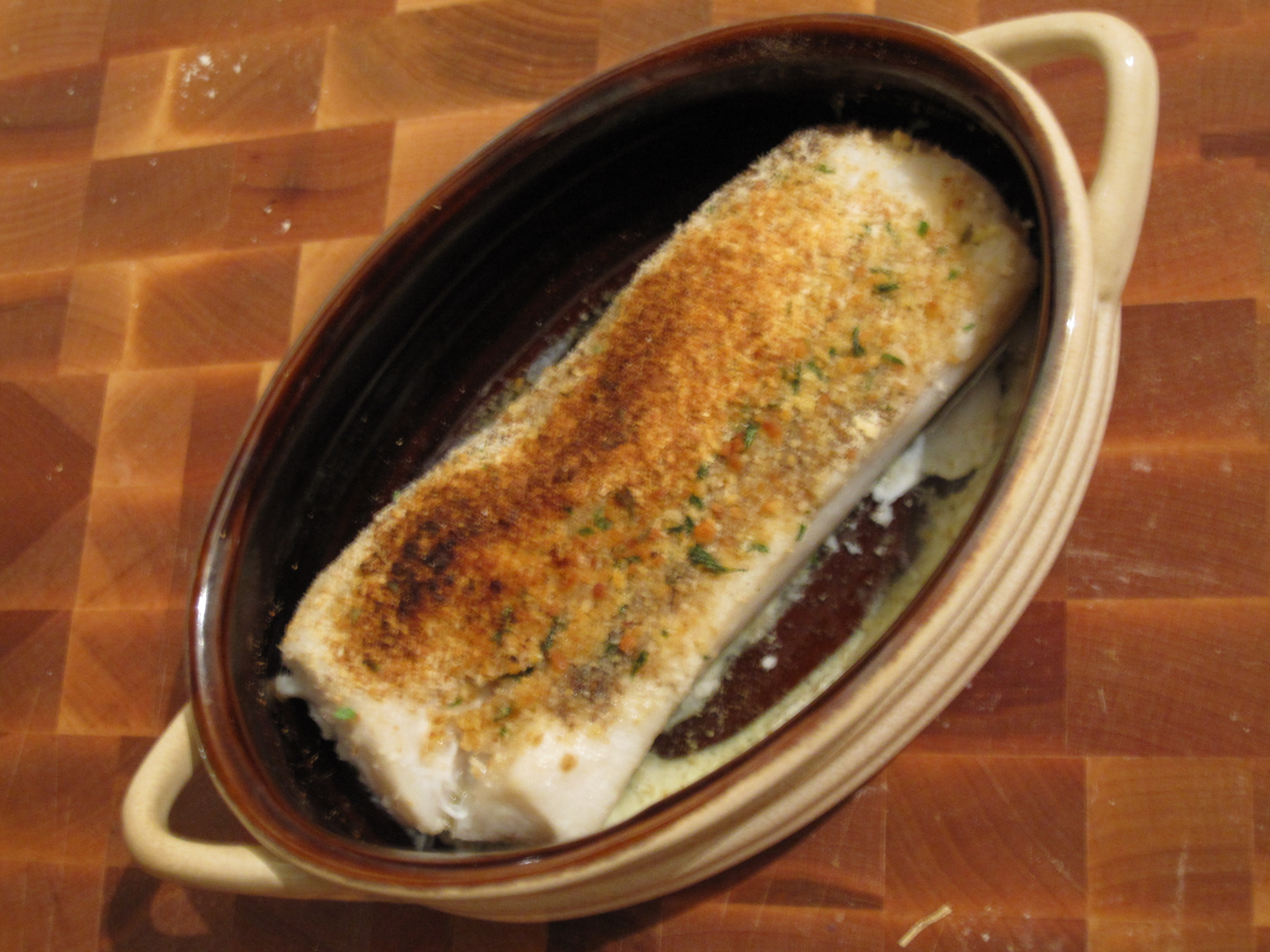 Crispy Cod Cooked 'Unilaterally' With Creamed Leeks Recipes ...