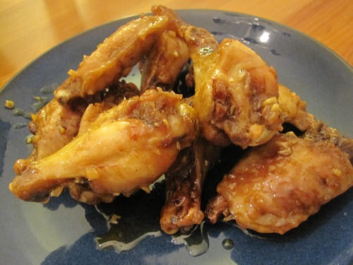Honey Ginger Wings